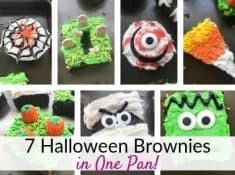 Decorating ideas for Halloween brownies!