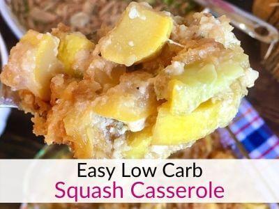 The Best Low Carb Squash Casserole