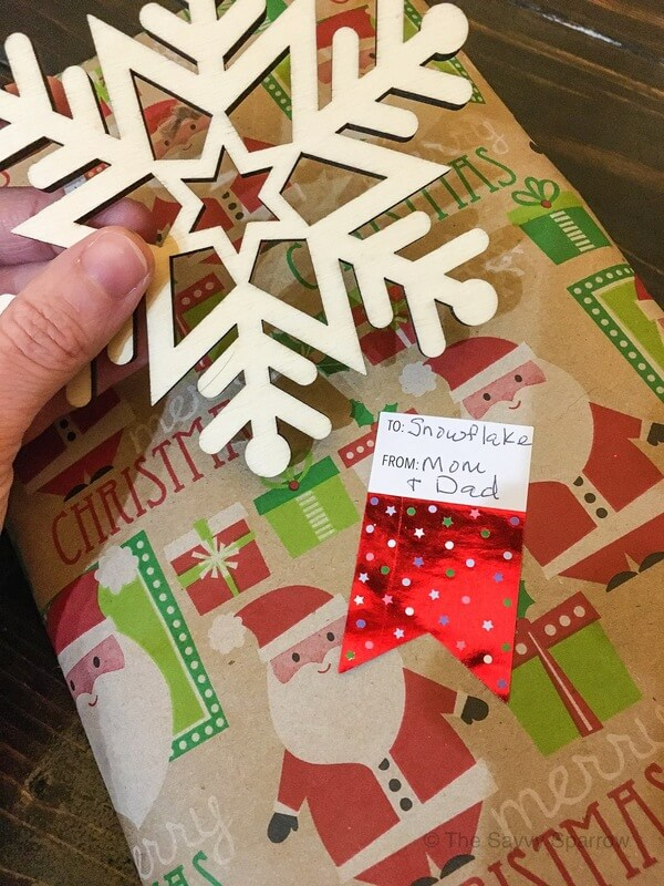 Family Christmas traditions for wrapping gifts