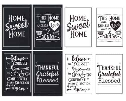 Free Farmhouse Printable Wall Art
