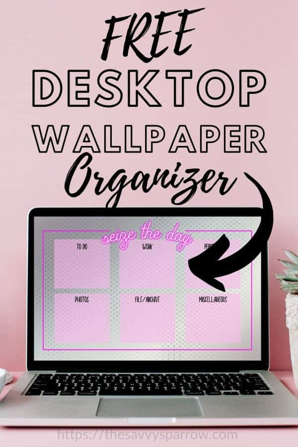 Free Desktop Organizer Wallpaper download