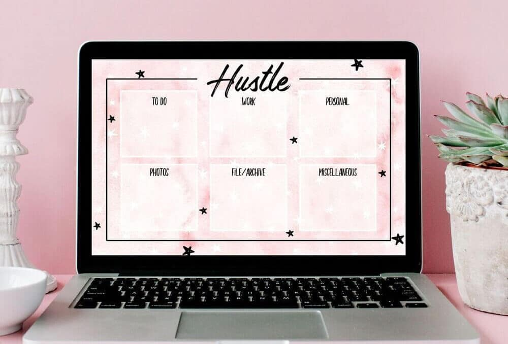 desktop wallpaper organizer to organize computer files