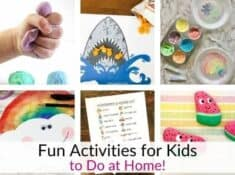 Fun activities for kids to do at home