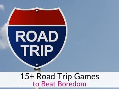 Road trip games for kids - Easy Car Ride Activities