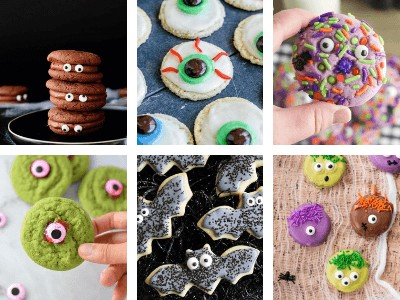 25 Spooky and Easy Halloween Cookies for Kids