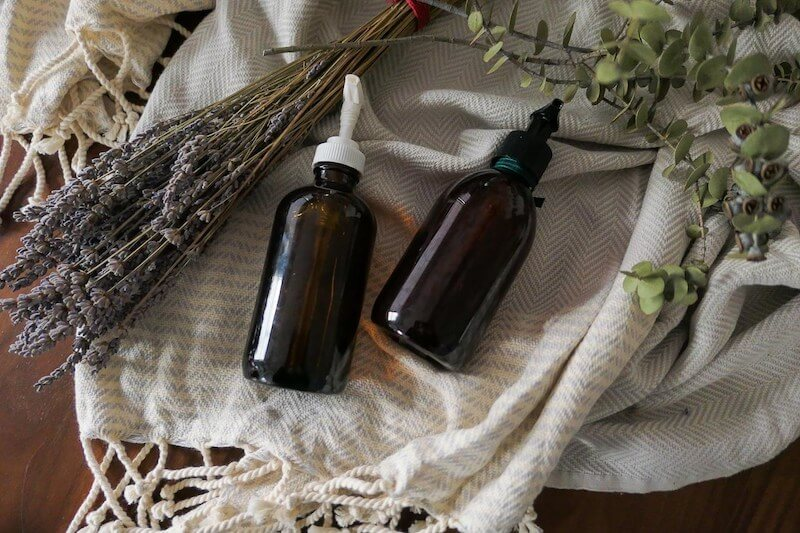 DIY lavender hand soap