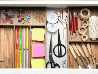 Junk Drawer Organization – Keep it Clean Once and For All!