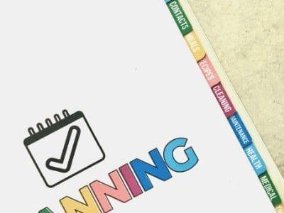 DIY Binder Dividers to Help You Get Organized!