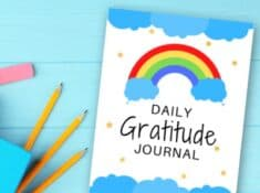 printable gratitude journal for kids