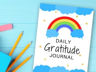 Gratitude Journal for Kids with FREE Printable Journal Pages!