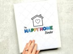 home management binder cover