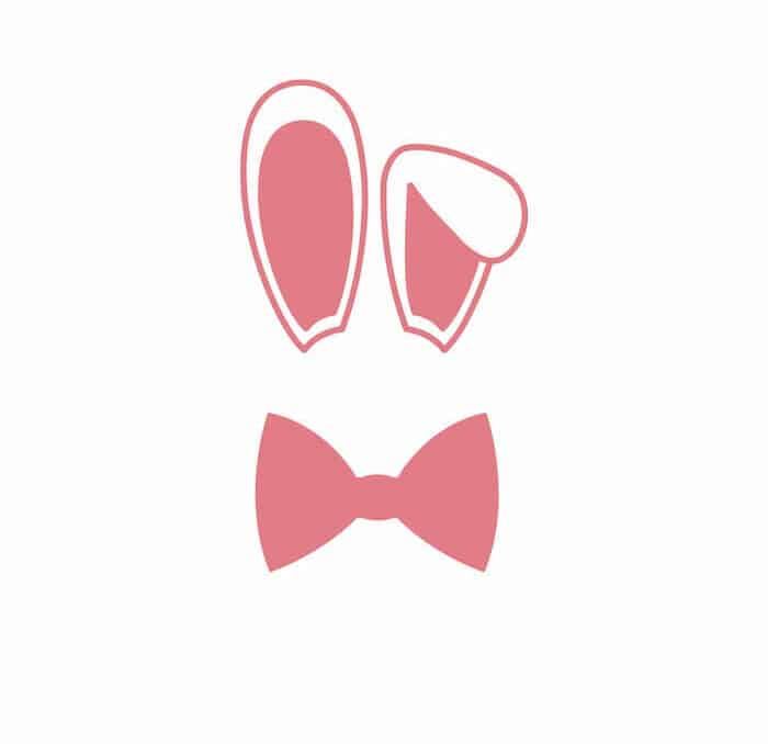 paper plate bunny ears template