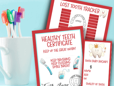 11 Tooth Fairy Ideas Your Kids will LOVE – with Printables!