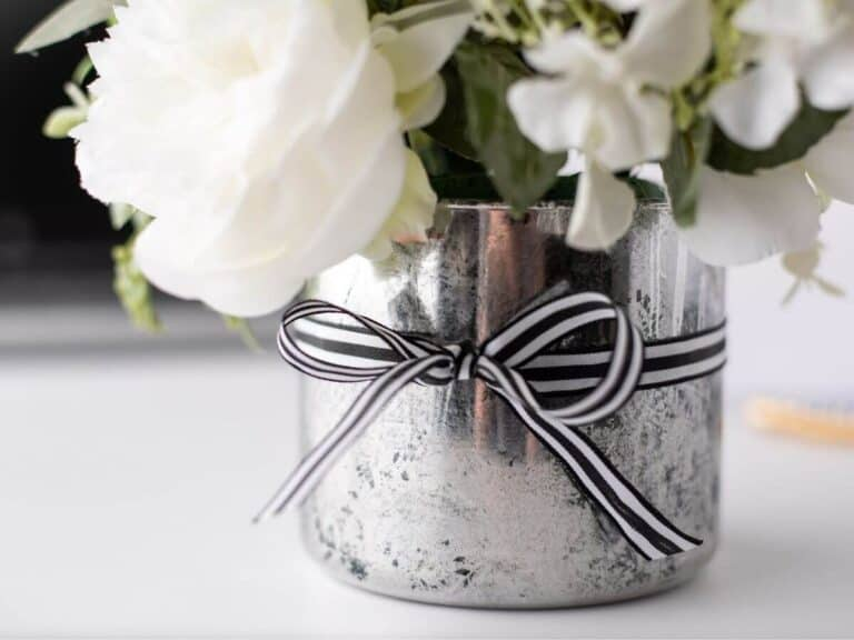 DIY Faux Mercury Glass – Easy Spray Paint Tutorial!