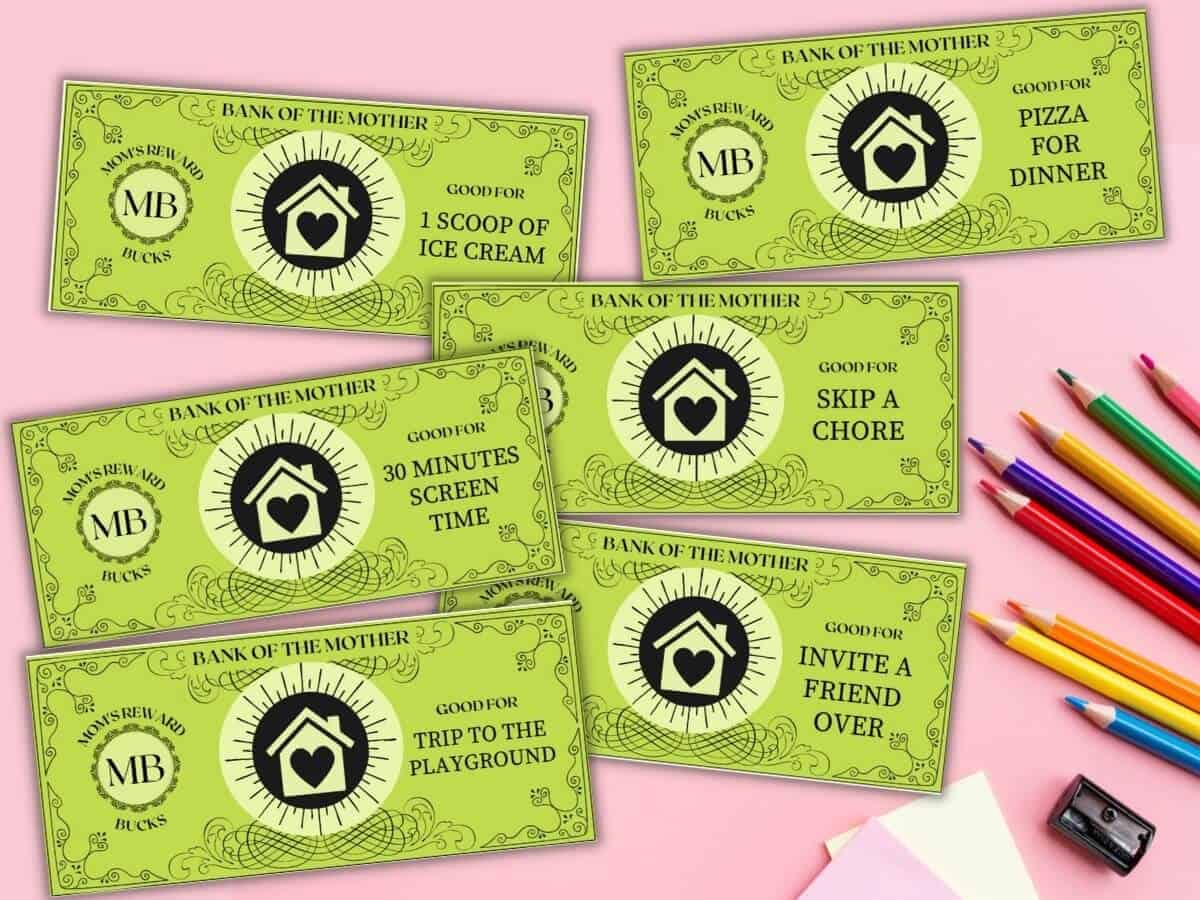 printable mom bucks reward coupons