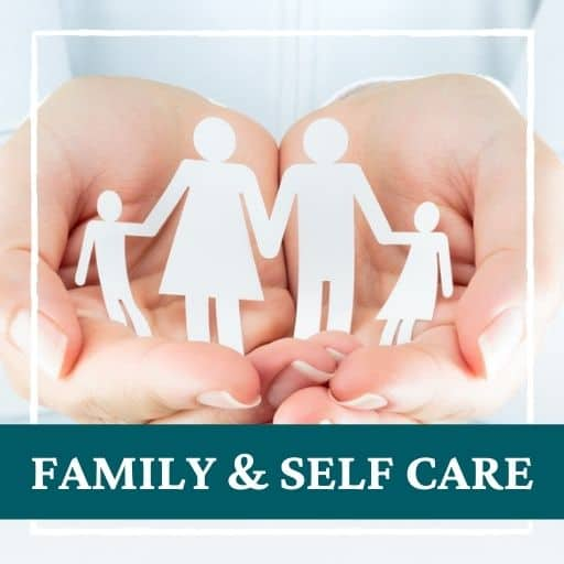 family and self care
