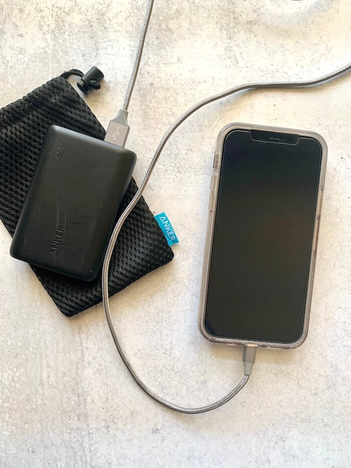 portable cell phone battery charger
