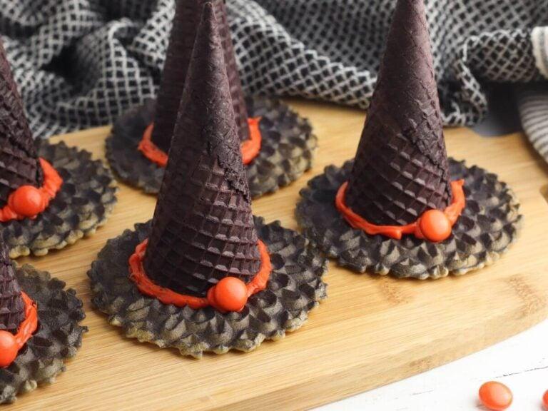 Witch Hat Ice Cream Cone Treats – Fun Halloween Snacks for Kids!