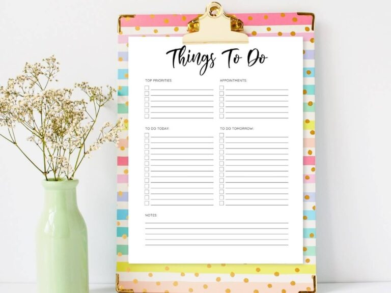80+ Lists to Make to Stay Organized When You're Overwhelmed