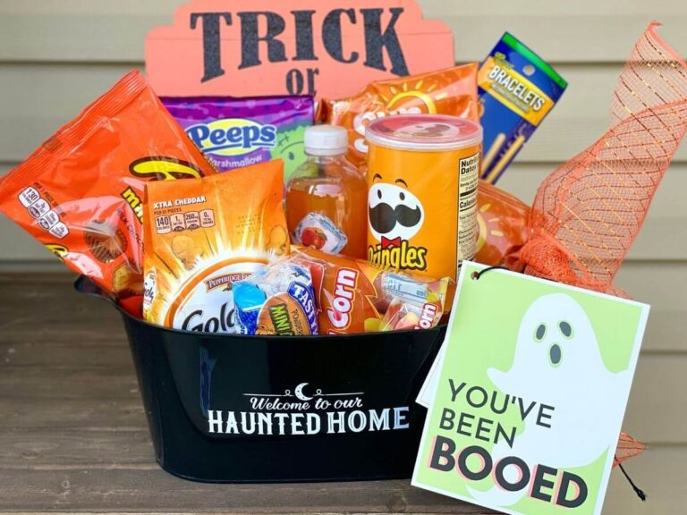 You've Been Booed – Printable Tags for Booing Neighbors this Halloween!