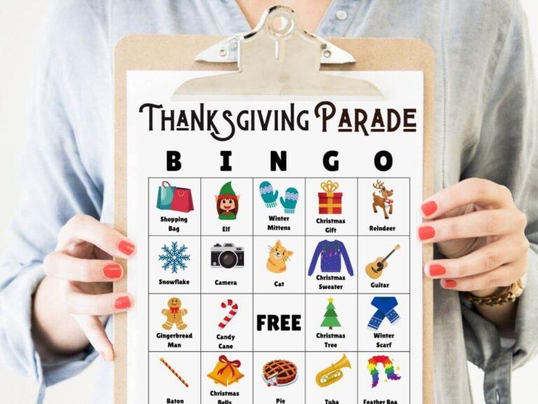 Macy's Thanksgiving Day Parade BINGO – Free Printable Bingo Cards!